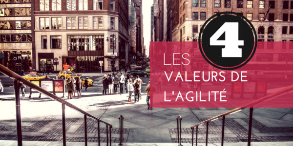 Manifeste Agile 4 valeurs de l'agilité