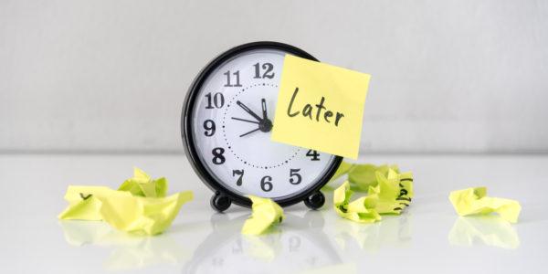 Procrastination, boost naturel