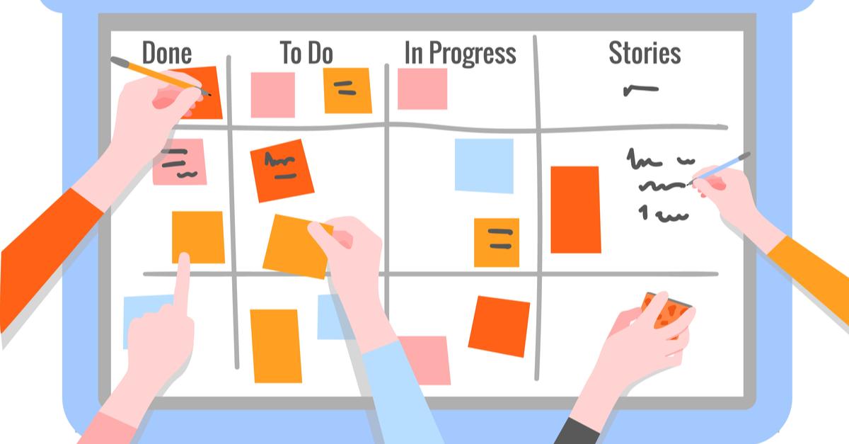 Agile management visuel scrum